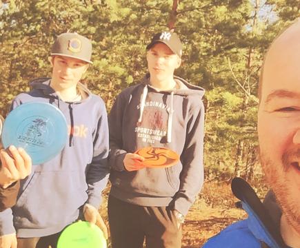 Frisbeegolf on hieno harrastus