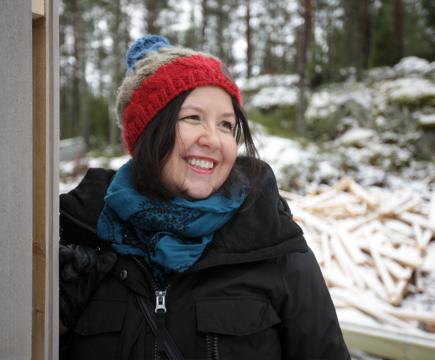 Muoilijan pikkutalo valmistuu Koskenkylään
