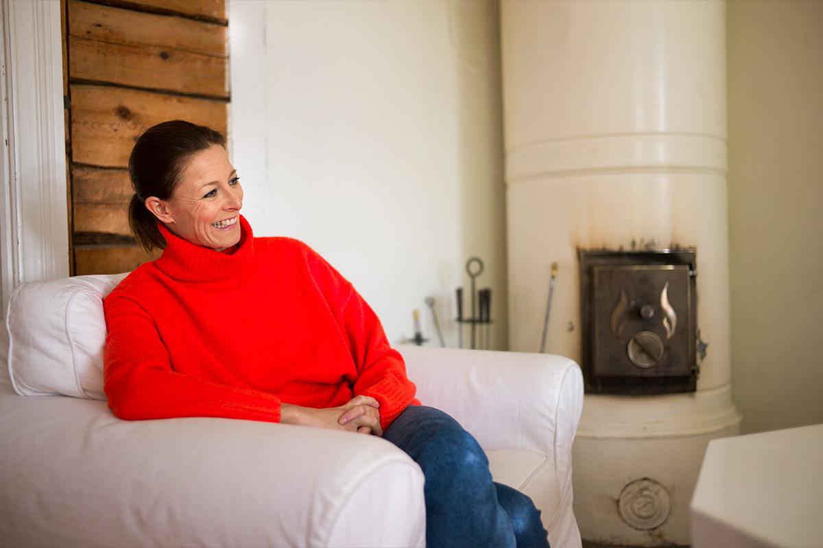 Mia Hafrénilla on vapaa-ajan koti Loviisassa