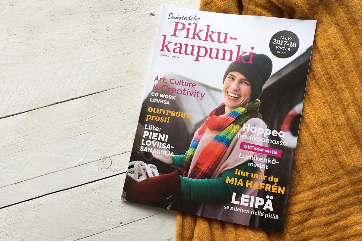 Talven Pikkukaupunki -lehden painettu numero on ilmestynyt.
