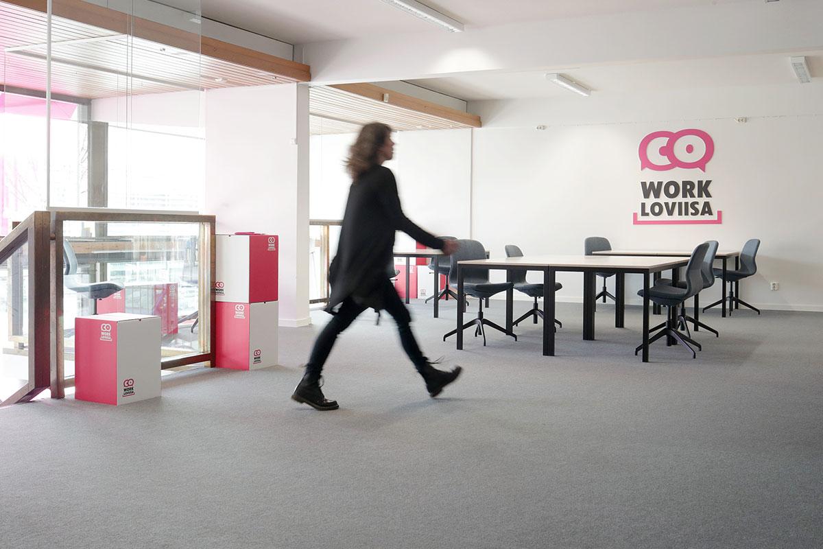 CoWork Loviisa työtila etätyötä varten